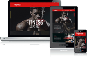 GyM FitNess training Website Designing and Development Company